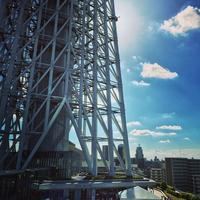 東京スカイツリー / Tokyo Skytree バーベキュー tokyoskytree 夜景