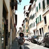 フィレンツェの路地裏