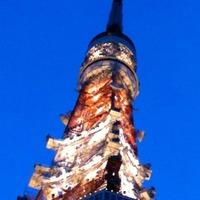 東京タワー 先っぽ曲がった