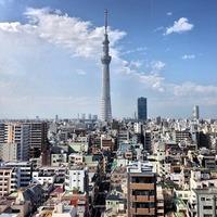 アルカキット錦糸町 (ARCAKIT KINSHICHO) 屋上から東京ス...
