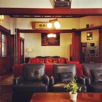 富士屋ホテル (Fujiya Hotel) レストラン待ちでラウンジでまっ...