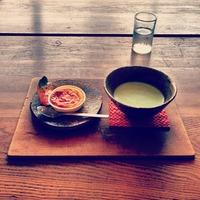 茶房 菜の花 栗っ子スイートポテトと抹茶のセット...
