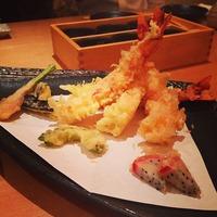 酒彩蕎麦 初代 ドラゴンフルーツの天ぷらに軽く衝撃を受けた...
