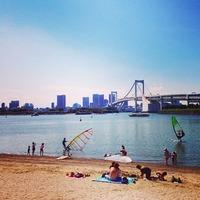 お台場ビーチ Odaiba Beach 今晩のモヤモヤさまぁ~ず2ハワイ後...
