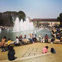 上野公園噴水広場 東京国立博物館 ueno 噴水 大盛況 park 勢い view 気持ち