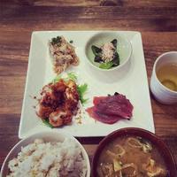 北斎茶房 japanesefood kinshicho デザート 和デリプレートランチ 調子