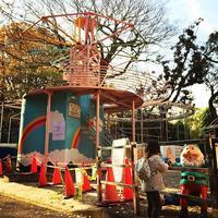 上野こども遊園地 autumnleaves amusementpark こびと dwarf