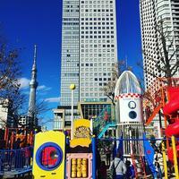 錦糸公園 kinshipark kinshicho olinas ロケット rocket 近所