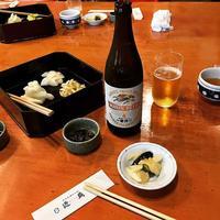 近為 monzennakacho kintame pickles 柚こぼし 茄子 beer