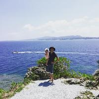 真栄田岬 青の洞窟ダイビング・シュノーケルポイント maedamisaki oceanview